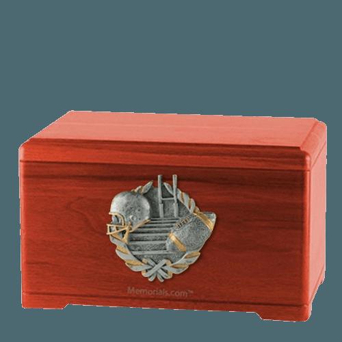 Touchdown Fan Cherry Cremation Urn