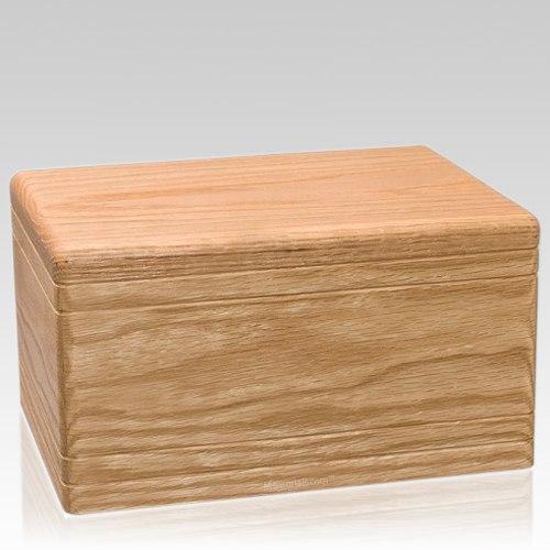 Tradicional Oak Wood Urn