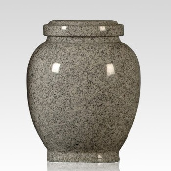 Traditional Gray Child Cremation Urn