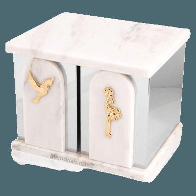 Trinity Silver White Danby Companion Urn