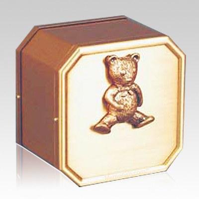 Triumph Teddy Bronze Children Urn