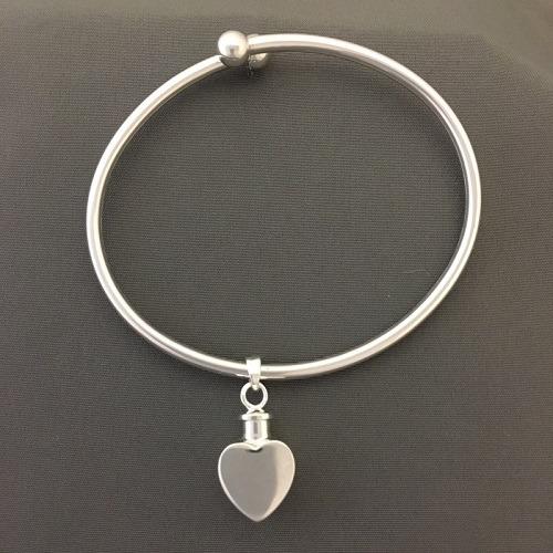 True Heart Ash Cremation Bracelet