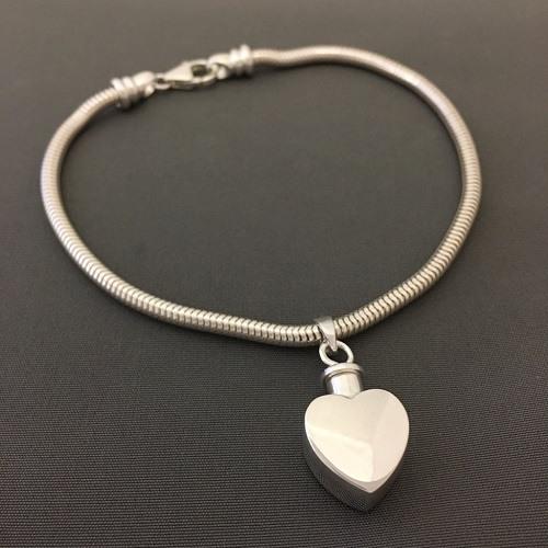 True Heart Cremation Bracelet