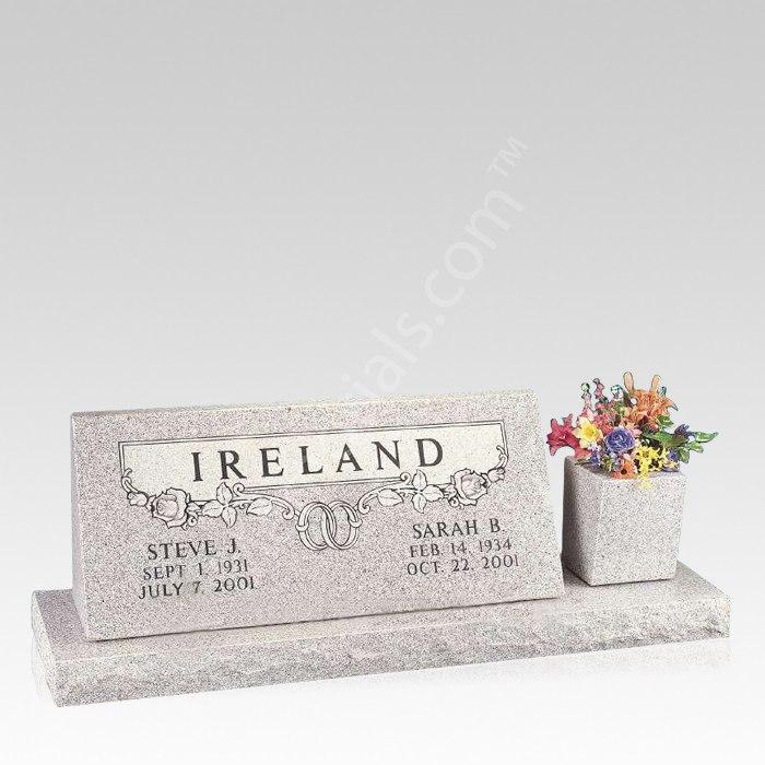 Union Upright Cemetery Headstone