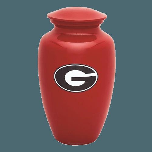 University of Georgia Cremation Urn