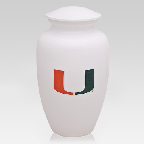 University of Miami Cremation Urn