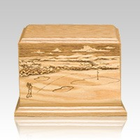 On The Green Child Cremation Urn
