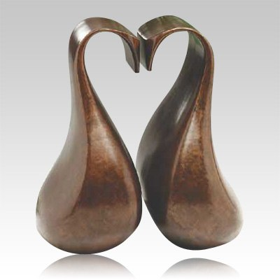 Loving Swans Companion Cremation Urn