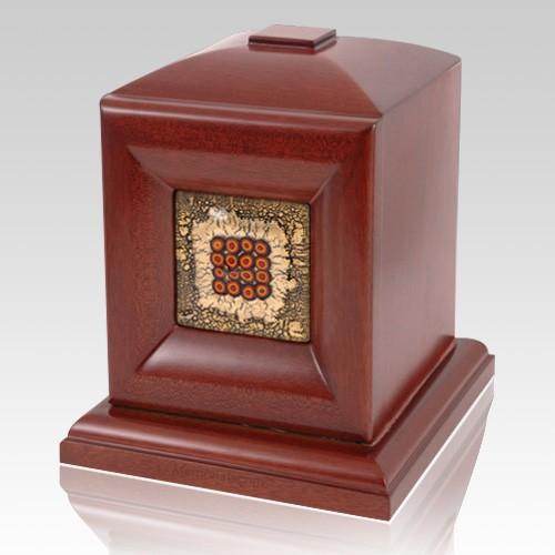 Palermo Wood Cremation Urn