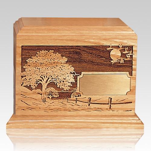 Road Home Wood Children Infant Cremation Urn