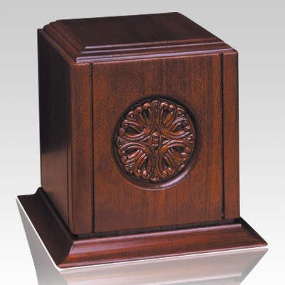 Flair Wood Cremation Urn