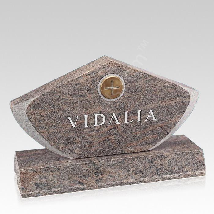 Valley Companion Granite Headstone