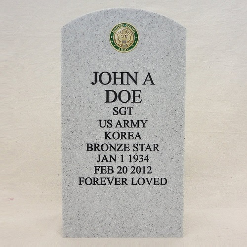 Veteran Stone Cremation Urns