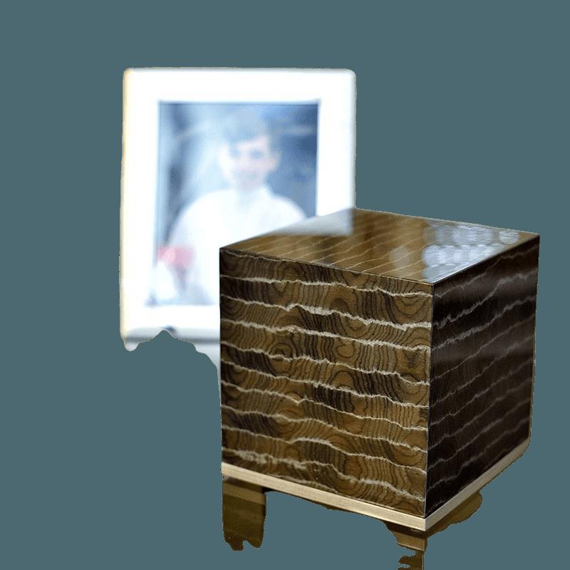 Vibrato Wood Cremation Urn