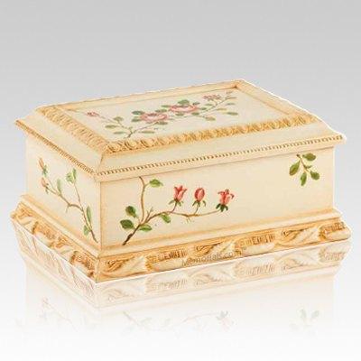 Victorian Wood Cremation Urn