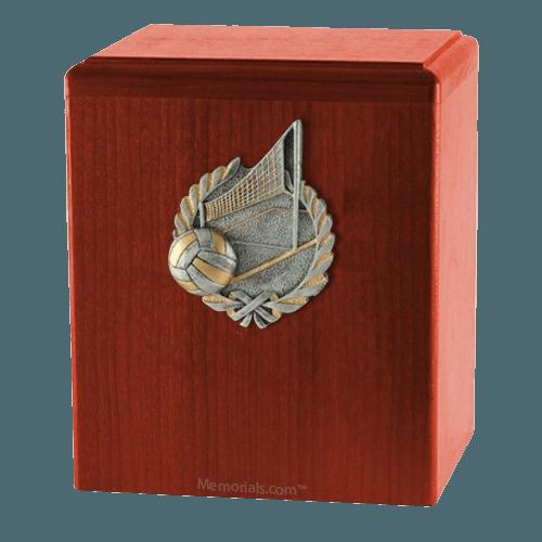 Volleyball Cherry Cremation Urn
