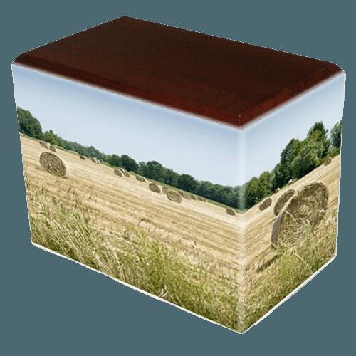 Bailing Hay Child Cremation Urns II