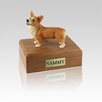 Welsh Corgi Small Dog Urn