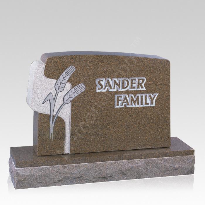 Wheat Memorial Headstone