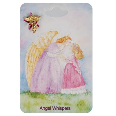 Whispers Angel Lapel Pins