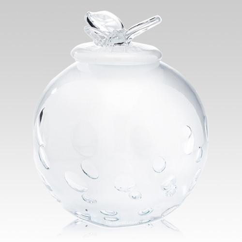 White Butterfly Child Cremation Urn