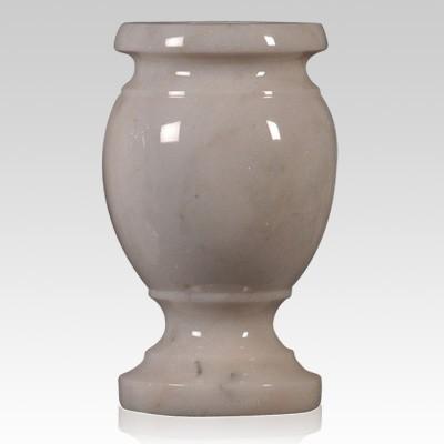 White Large Marble Vase
