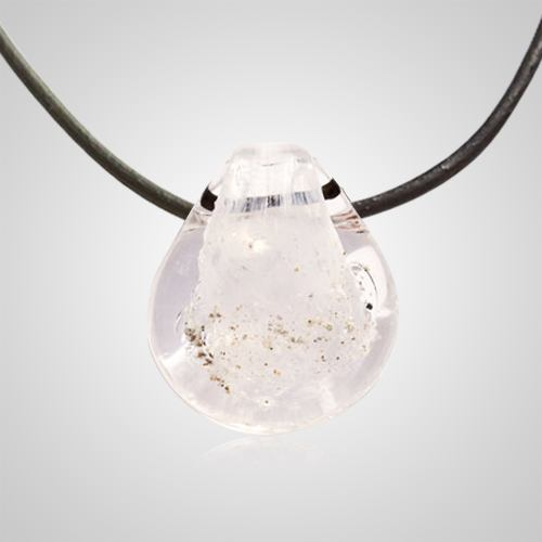 White memory glass pendants aloadofball Image collections