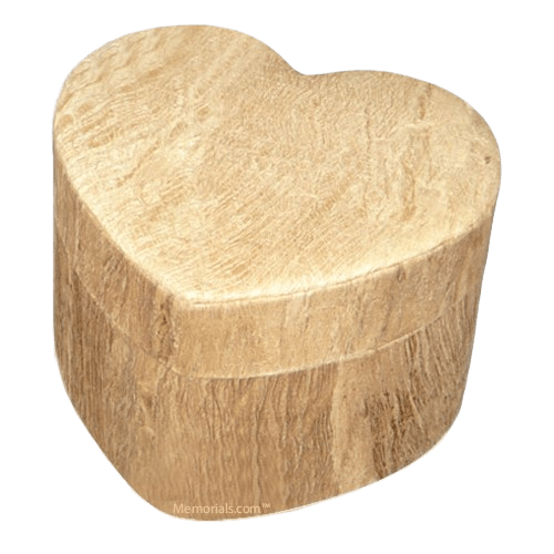 Wood Grain Unity Large Biodegradable Urn
