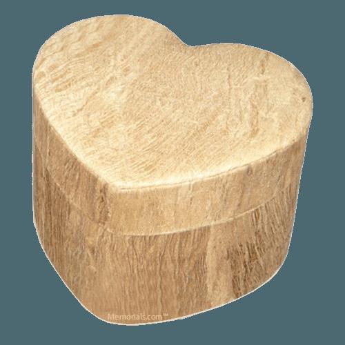 Wood Grain Unity Large Biodegradable Urn
