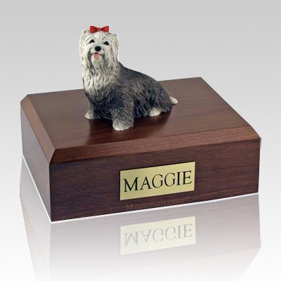 Yorkshire Terrier Gray Dog Urns