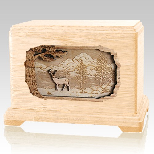 Deer Maple Hampton Cremation Urn