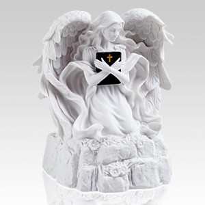 White Angel Religious Cremation Urn