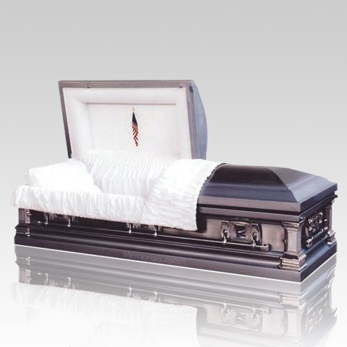 arlington steel casket