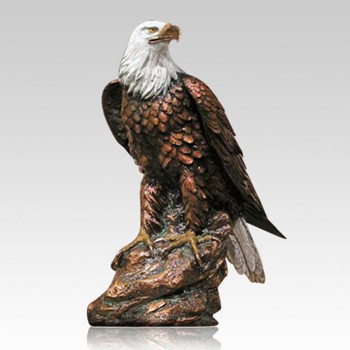 Bald Eagle Cremation Urn