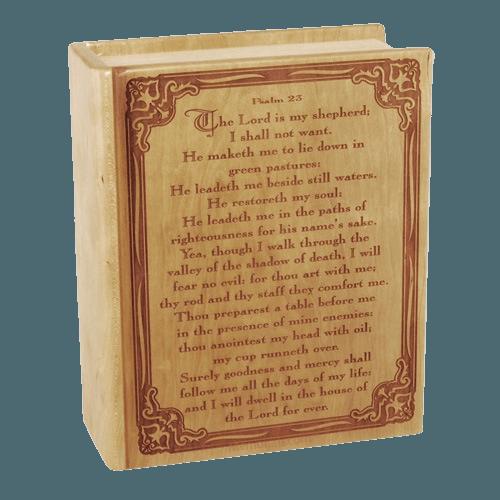 Salmo 23 Urna de la Cremacion