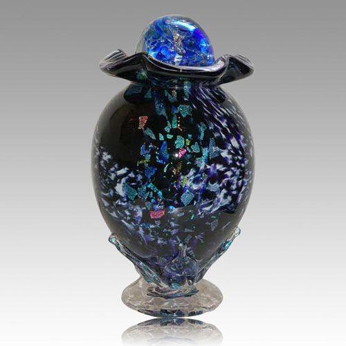 Moonshine Glass Cremation Urns