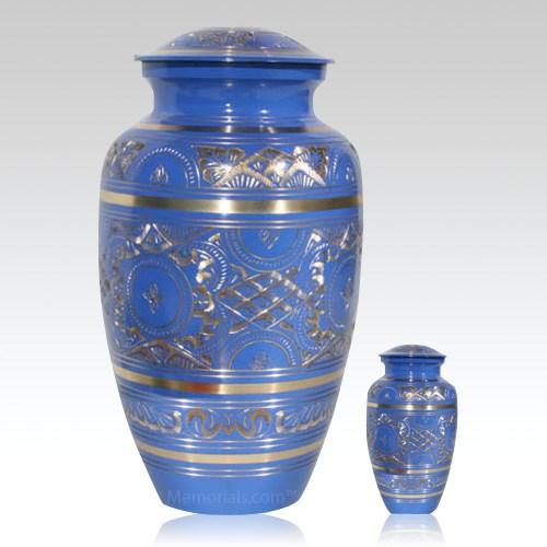 Blue Swan Cremation Urns