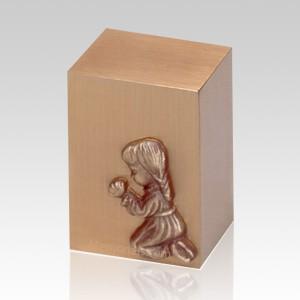 Praying Girl Infant Cremation Urn