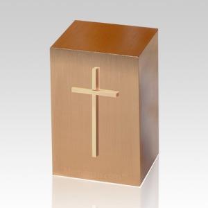 Protestant Cross Large Infant Cremation Urn
