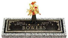 Companion Bronze Headstones