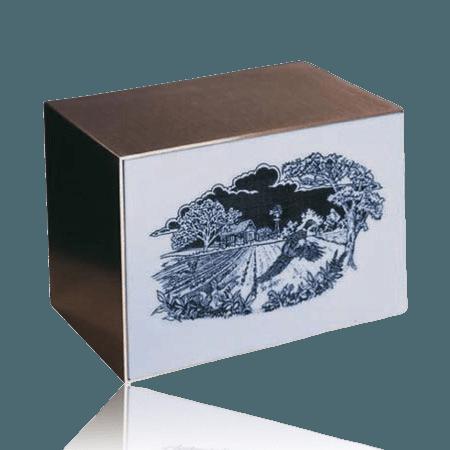 Pheasant Flight Cremation Urn