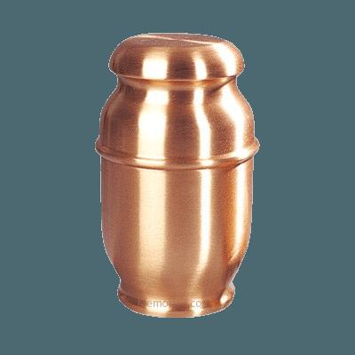 Spun Copper Children Cremation Urn