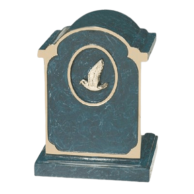 Dove Medallion Bronze Cremation Urn