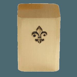 Fleur De Lis Bronze Cremation Urn