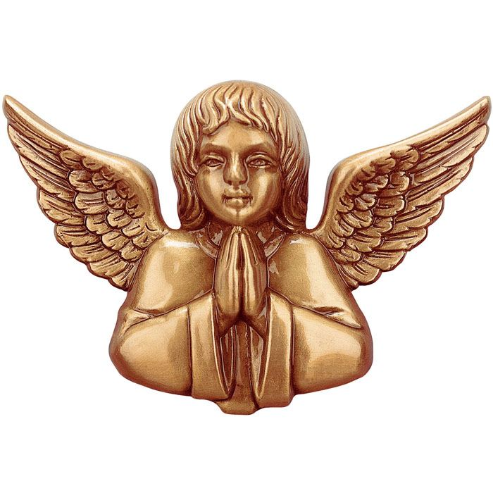 Praying Angel Wall Bronze Statues
