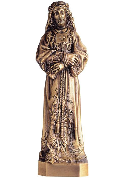 Jesus Standing Wall Bronze Statues