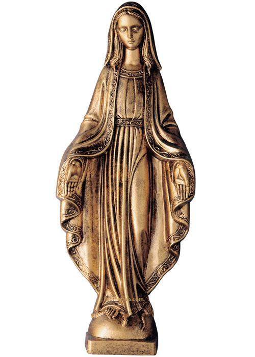 Immaculada Wall Bronze Statues