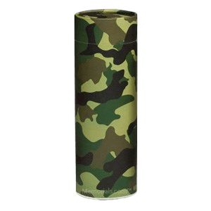 Camouflage Scattering Small Biodegradable Urn