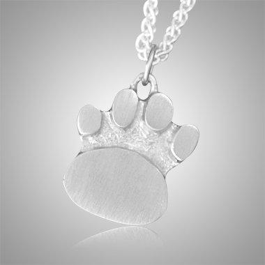 Signature Cat Paw Cremation Keepsake