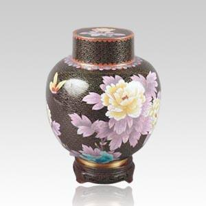 Great Wall Black Child Cremation Urn